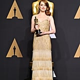 Emma Stone's Oscars Dress Connects Her to Audrey Hepburn in the Coolest Way