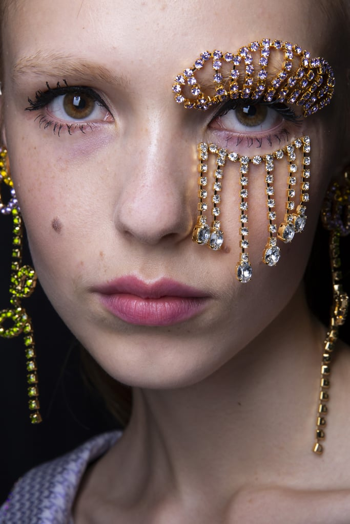 Spring 2020 Runway Beauty Trends: 3D Makeup