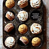 Pumpkin S'more Doughnut Muffins