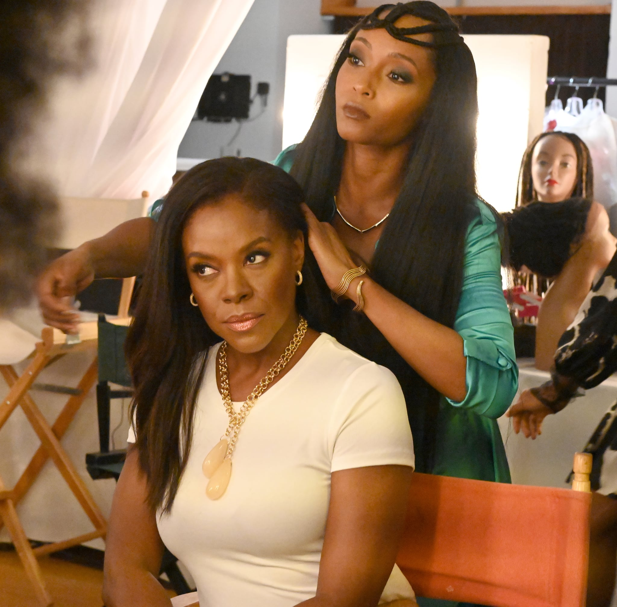 Nadine Ellis and Yaya DaCosta in OUR KIND OF PEOPLE premiering Tuesday, Sept. 21