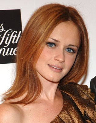 Picture Of Alexis Bledel With Red Hair 2010 09 15 14 00 00