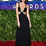 Emily Ratajkowski at the 2019 Tony Awards in Michael Kors