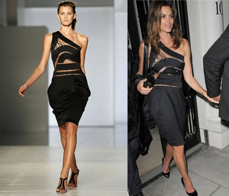 Catwalk to Party: Cindy Crawford in Preen