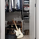 Throw all your clothes in one spot.