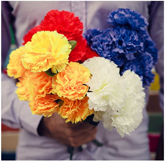 Chromatic Carnation Bouquet