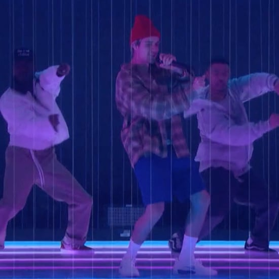 "Justin Bieber's ""Intentions"" Performance With Quavo on Ellen"