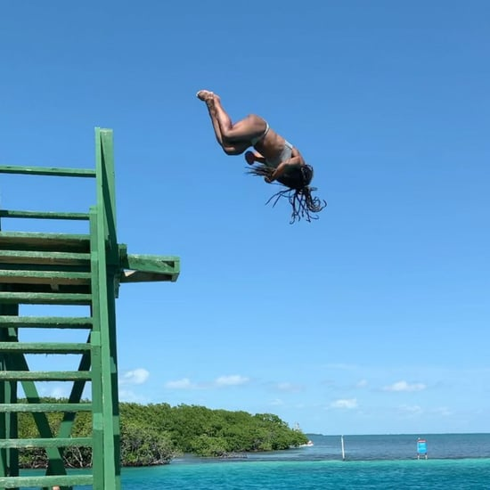 Simone Biles Doing Flips on Vacation Is Purely Incredible