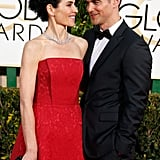 Julianna Margulies gave her husband, Keith Lieberthal, a sweet look on the red carpet.