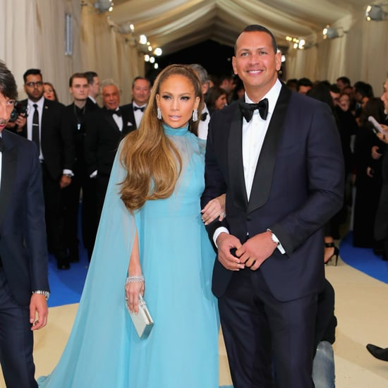 Jennifer Lopez and Alex Rodriguez at Met Gala 2017
