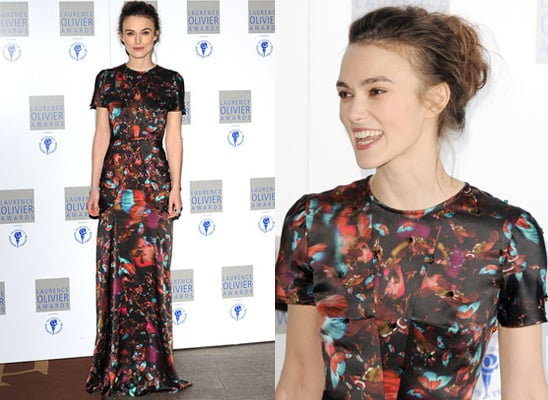 Keira Knightley at the Laurence Olivier Awards 2010 in Erdem 2010-03-22 06:30:05