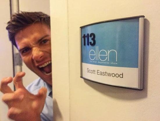 Scott Eastwood has his own underwear story on Ellen, like Bradley Cooper