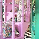 You can send your purchases from Honeydukes and other shops to the park entrance.