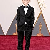 Jacob Tremblay Officially Wins the Oscar For Tiniest, Most Adorable Guest