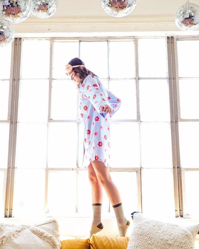 Retro Daisy Sleep Dress