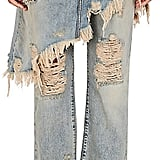 R 13 Double Classic Crop Jeans ($695)
