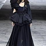 Bella Hadid on the Off-White Fall 2020 Runway at Paris Fashion Week