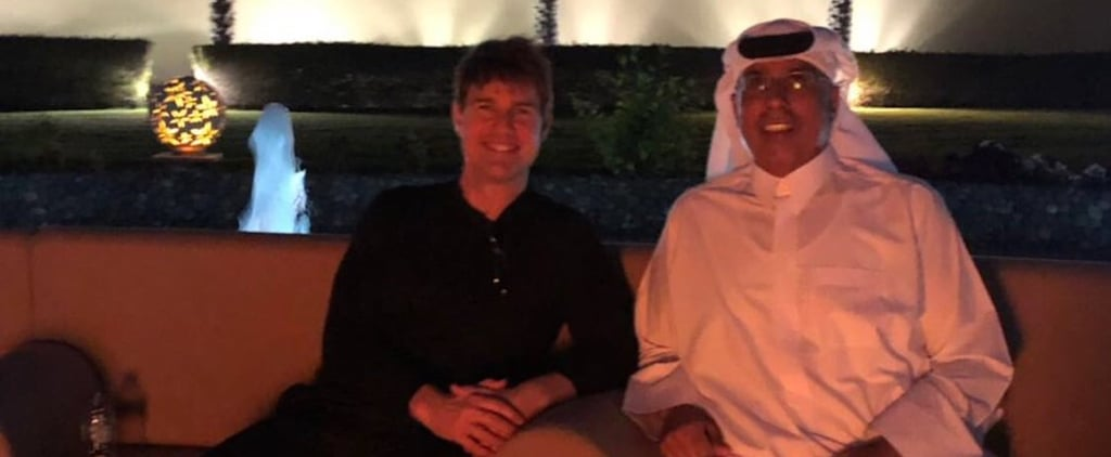 Tom Cruise Abu Dhabi 2018