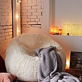 Minnie Faux Fur Inflatable Chair