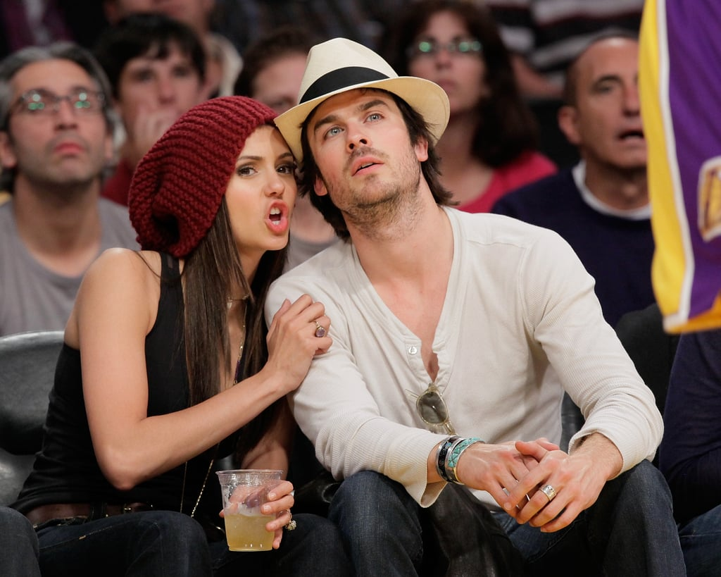 Pictures of Celebs at Lakers Game