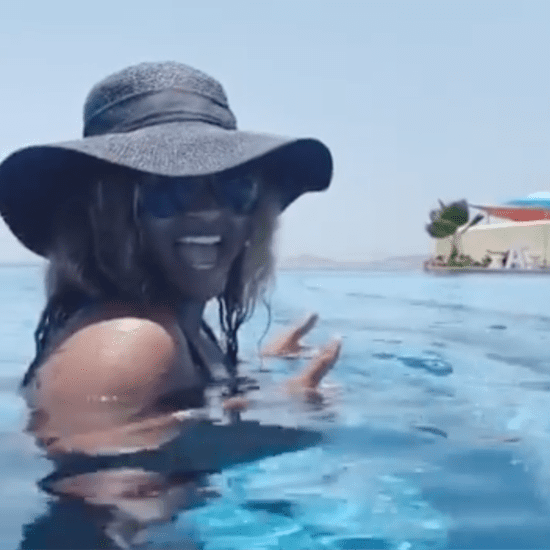 Video of Ciara Teaching Her Kids How to Swim