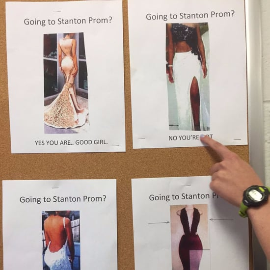 "High School Prom ""Good Girl"" Dress Code"