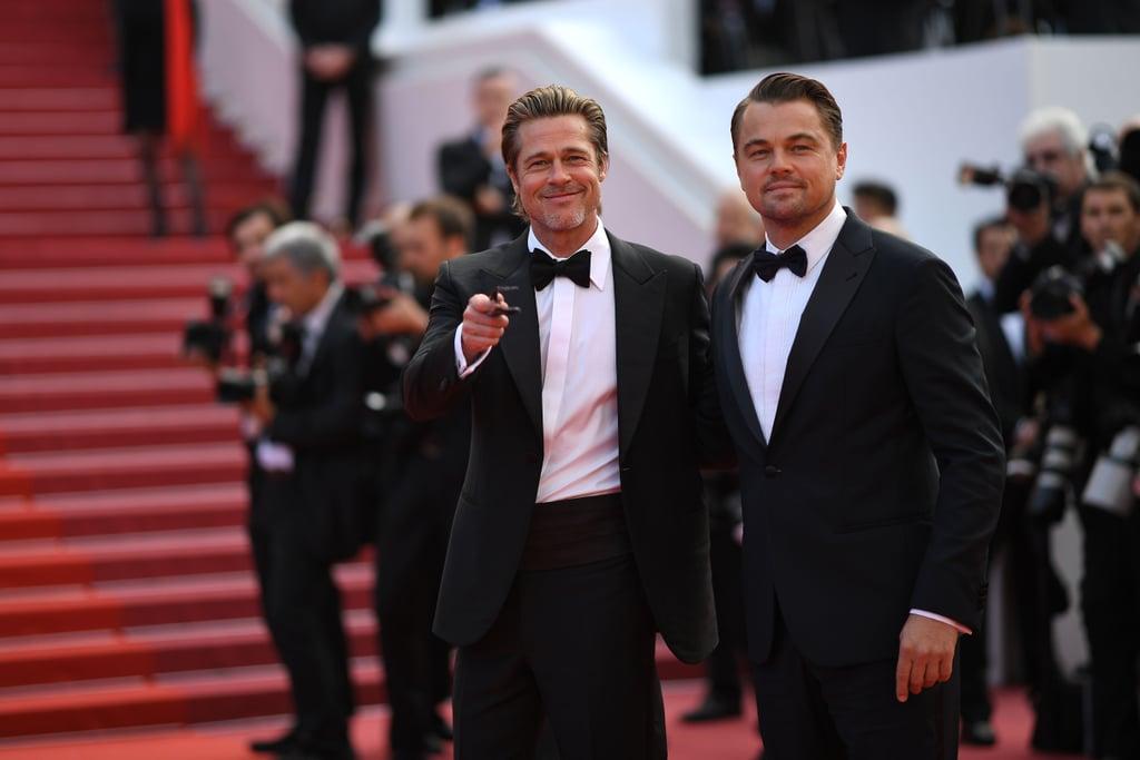 Brad Pitt and Leonardo DiCaprio at Cannes Film Festival 2019