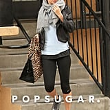 Nicole Richie went for a workout in LA.