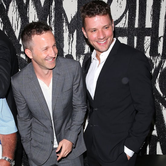 Ryan Phillippe and Breckin Meyer Having Dinner Together