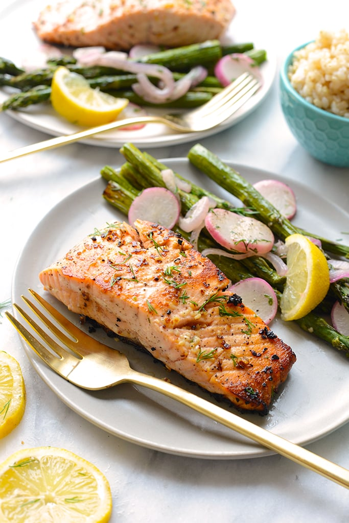 Lemon Seared Salmon