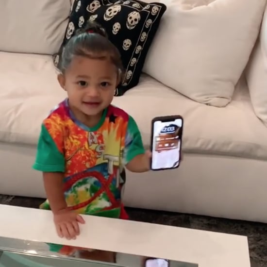 "Stormi Dancing to Kylie Jenner Singing ""Rise and Shine"""