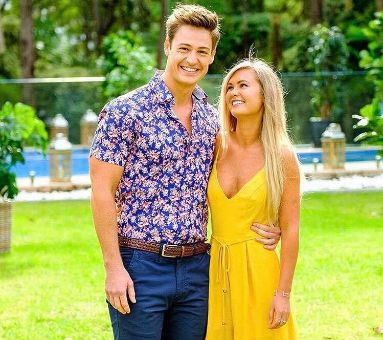 Pictures of Chelsie McLeod and Matt Agnew The Bachelor 2019