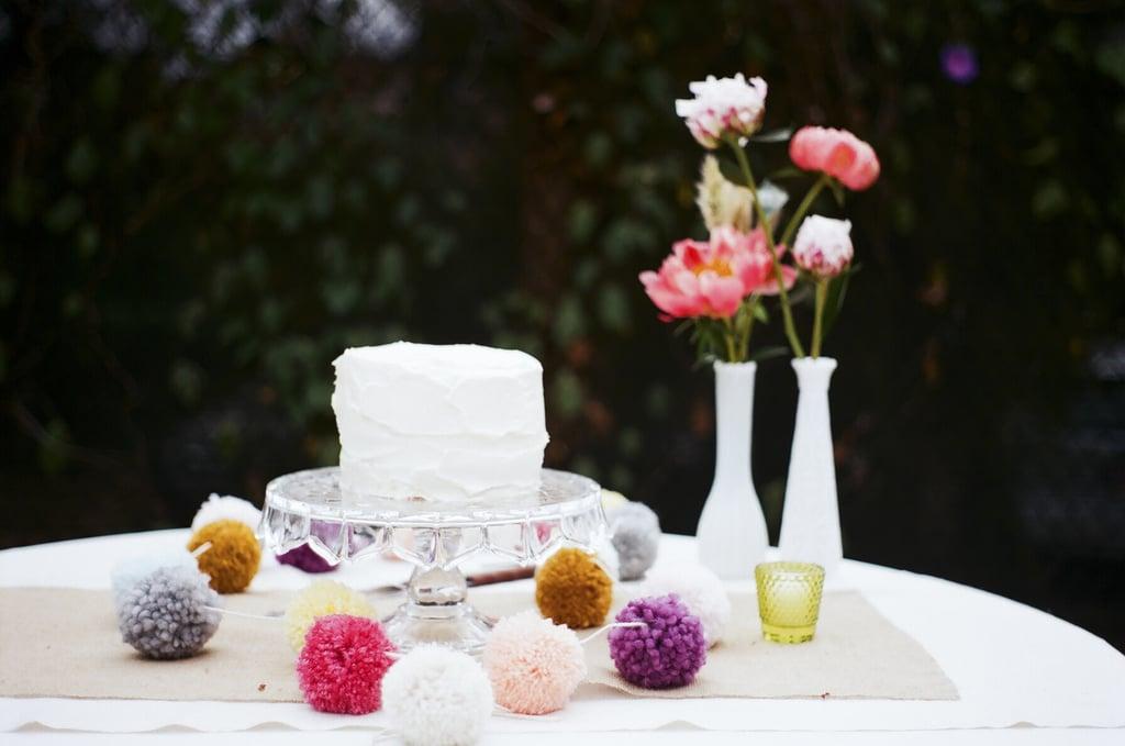 White Frosting Cake