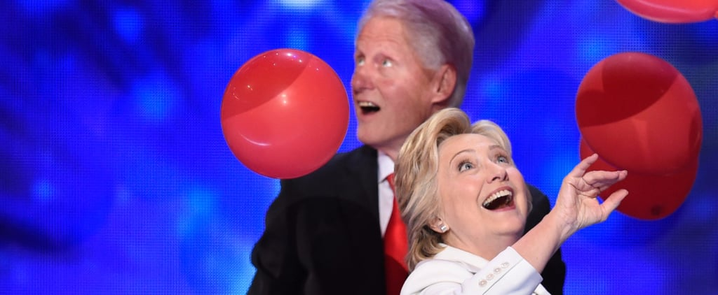 These Photos of Bill and Hillary Playing With Balloons Will Inspire You to Live Your Best Life