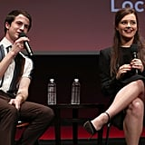 Dylan Minnette and Katherine Langford at FYC Event