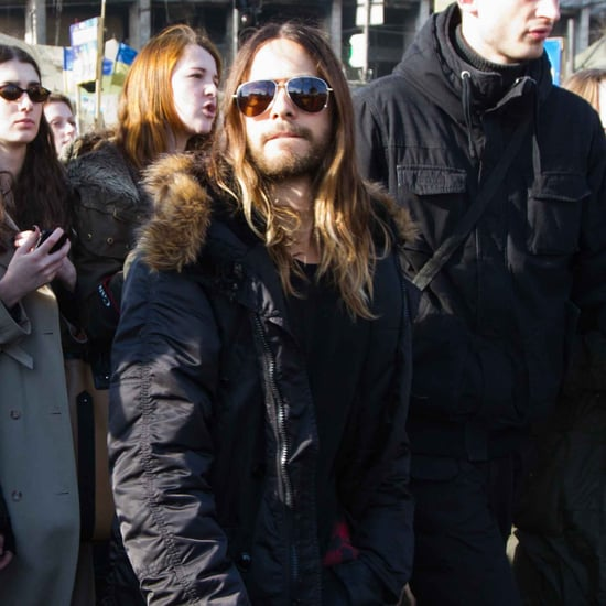 Jared Leto Visits Ukraine | Pictures