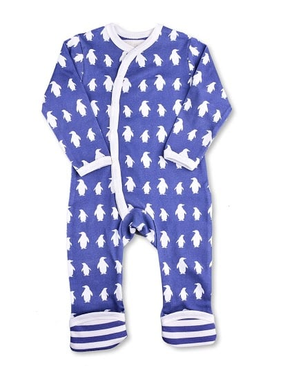 Penguin Kimono Romper