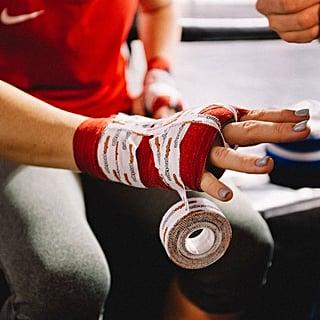أندردون بوكسن حصص ملاكمة للسيدات في دبي