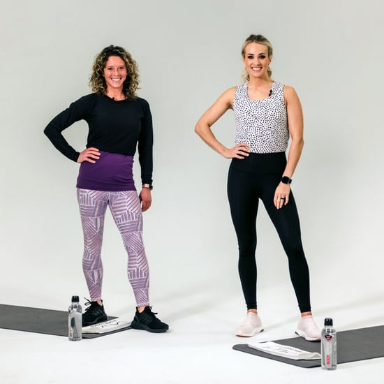 5-Minute HIIT Workout With Carrie Underwood and Eve Overland