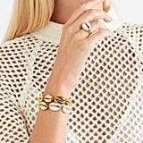 Tohum Puka Gold-Plated Shell Jewelry