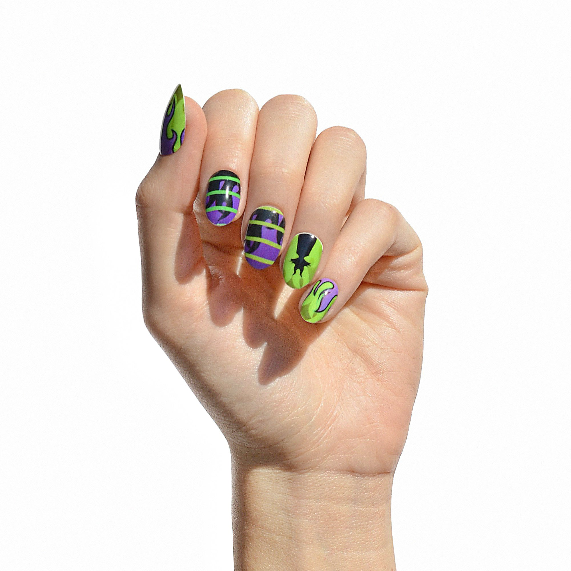 Live In The Shadows Maleficent Nail Wraps You Can Now Rep