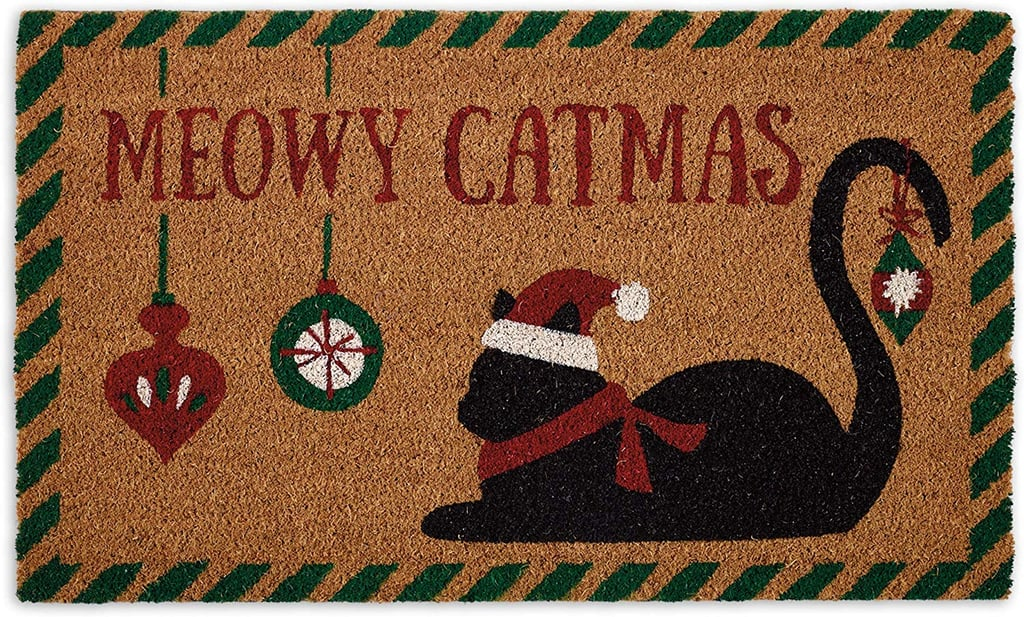 Meowy Christmas Doormat