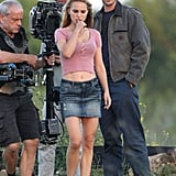 Natalie Portman filmed her newest movie in Texas.