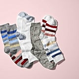 EV1 Stripe and Dot Crew Socks