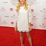 Laura Bell Bundy showed off her stems.