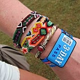 Let's be friends forever — or at least until that three-day pass expires! Piling on nostalgic friendship bracelets never gets old.