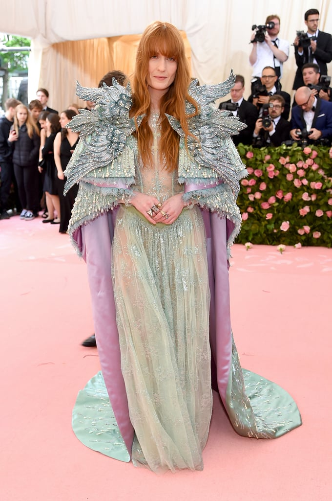 Florence Welch at the 2019 Met Gala
