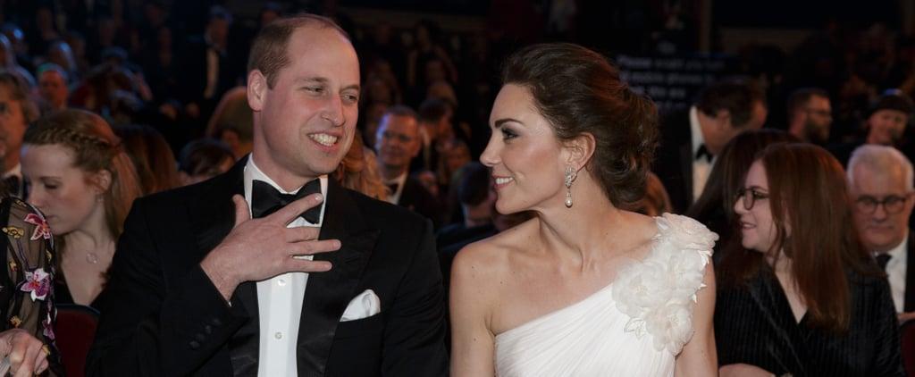 Prince William and Kate Middleton Meeting BAFTA 2019 Winners