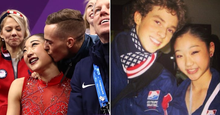 rippon chat On the 2018 academy awards red carpet, olympic figure skaters adam rippon and mirai nagasu chat with access' scott evans and.