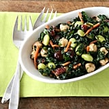 Kale, Edamame, and Chickpea Salad