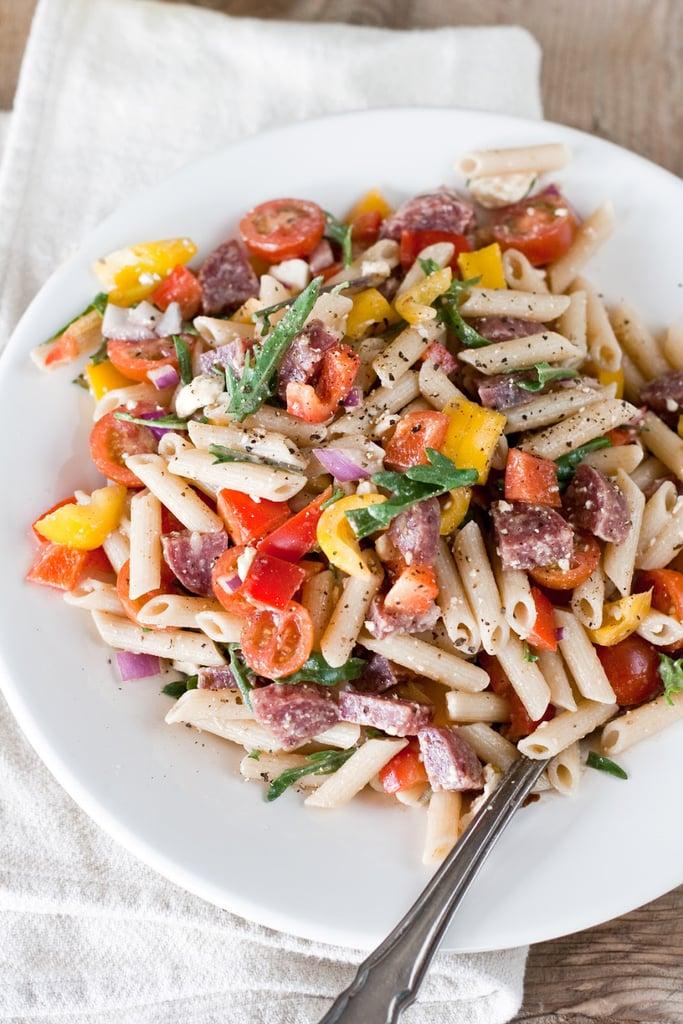 Crazy Delicious Pasta Salad